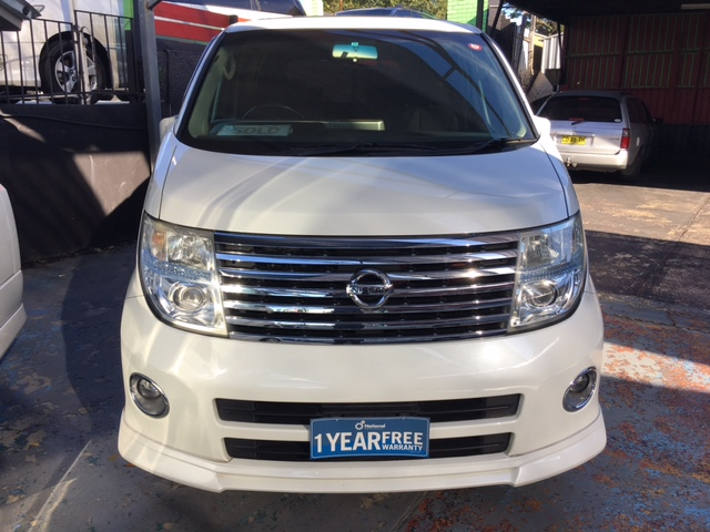 NISSAN ELGRAND(SOLD OUT)